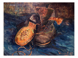 Van Gogh: The Shoes, 1887 Giclee Print by Vincent van Gogh