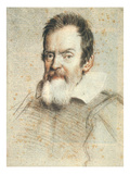 Galileo Galilei (1564-1642) Giclee Print by Ottavio Leoni