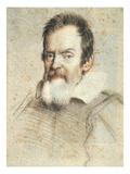 Galileo Galilei (1564-1642) Poster by Ottavio Leoni