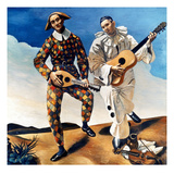 Derain: Harlequin, 1924 Giclee Print by Andre Derain
