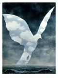 Magritte: La Grande Famille Art by Rene Magritte