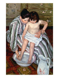 Cassatt: The Bath, 1891-2 Giclee Print by Mary Cassatt