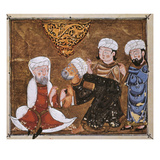 Muslim Court, 1334 A.D Posters