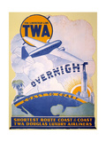Trans-World Airlines 1934 Premium Giclee Print
