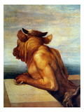 Watts: The Minotaur Print by George Frederick Watts