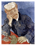 Van Gogh: Dr Gachet Posters by Vincent van Gogh