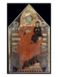 Saint Anne Enthroned Prints by Master of St. Francis Bardi