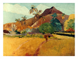 Gauguin: Tahiti, 1891 Impresso gicle por Paul Gauguin