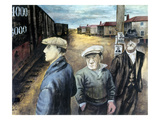 Shahn: Three Men Giclee Print by Ben Shahn