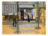 Bonnard: Street, C1902 Posters by Pierre Bonnard