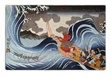 Kuniyoshi: Oban Print Giclee Print by Kuniyoshi Utagawa