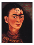 Diego and I, c.1949 Giclee Print by Frida Kahlo