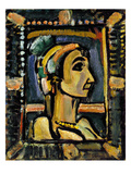 Rouault: Circus Girl Giclee Print by Georges Rouault