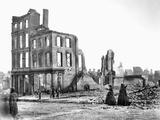 Civil War: Fall Of Richmond Photographic Print
