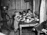 Christmas Poor, 1936 Photographic Print by Russell Lee