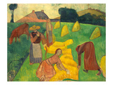 Bernard: Harvest, 1889 Prints by Emile Bernard
