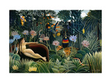 Rousseau: Dream, 1910 Giclee Print by Henri Rousseau