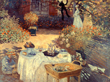 Monet: Luncheon, C1873 Print by Claude Monet