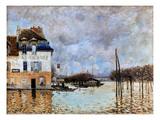 Sisley: Flood, 1876 Giclee Print by Alfred Sisley