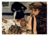 Bonnard: Breakfast, C1899 Giclée-Druck von Pierre Bonnard