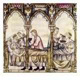 Spain: Medieval Hospital Print