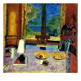 Bonnard: Dining Room Print by Pierre Bonnard
