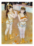 Acrobats at the Cirque Fernando, 1879 Giclee Print by Pierre-Auguste Renoir