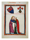 Heidelberg Lieder, 14Th C Giclee Print