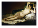 Goya: Nude Maja, C1797 Prints by Francisco Goya