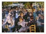 Renoir: Moulin De Galette Posters by Pierre-Auguste Renoir