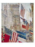 Hassam: Allies Day, May 1917 Print by Childe Hassam