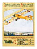 Aviation Poster, 1922 Giclee Print