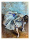 Degas: Dancer, 1881-83 Giclee Print by Edgar Degas