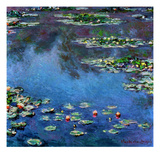 Water Lilies, 1906 Giclee Print by Claude Monet