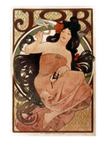Mucha: Cigarette Paper Ad Prints by Alphonse Mucha