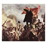 Vladimir Lenin (1870-1924) Giclee Print by Irakliy Toidze