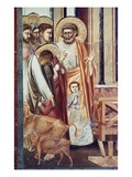 Jesus & Moneychanger Prints by  Giotto