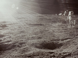 Apollo 12: Astronaut Photographic Print
