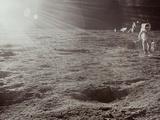 Apollo 12: Astronaut Photographic Print