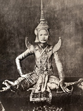 Siam: Dancer, C1870 Photographic Print