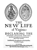 Virginia Tract, 1612 Giclee Print