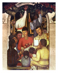 Rivera: Education, 1926 Art by Diego Rivera