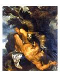 Prometheus Bound Giclée-Premiumdruck von Peter Paul Rubens