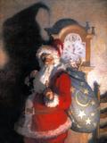 Wyeth: Old Kris (Kringle) Giclée-tryk af Newell Convers Wyeth