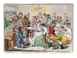 Cartoon: Vaccination, 1802 Print by James Gillray