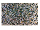 Pollock: Number 1 Impresso gicle por Jackson Pollock