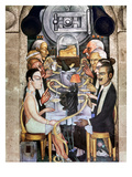 Rivera: Banquet, 1928 Posters by Diego Rivera