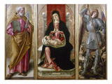 Madonna With Saints Posters by Bartolomeo Vivarini