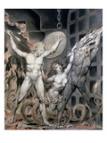 Blake: Satan Giclee Print by William Blake