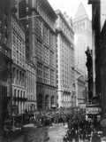 Financial Center, C1920 Photographic Print